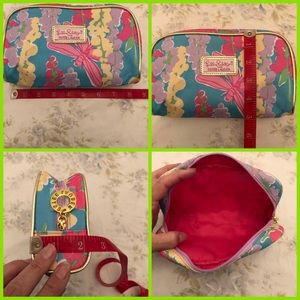 Lilly Pulitzer for Estée Lauder cosmetics bag